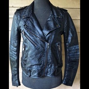 Divided By H&M Faux Leather Biker Jacket
